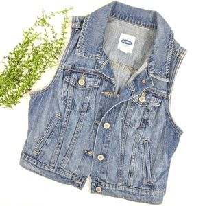 Old Navy Denim Vest